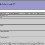phpinfo()の内容をコマンドラインで確認